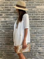 חליפת ורוניקה לבן