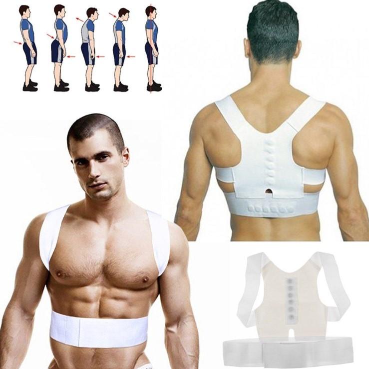 חגורת גב המשפרת יציבות על ידי תמיכה בכתפיים בראש ובגב