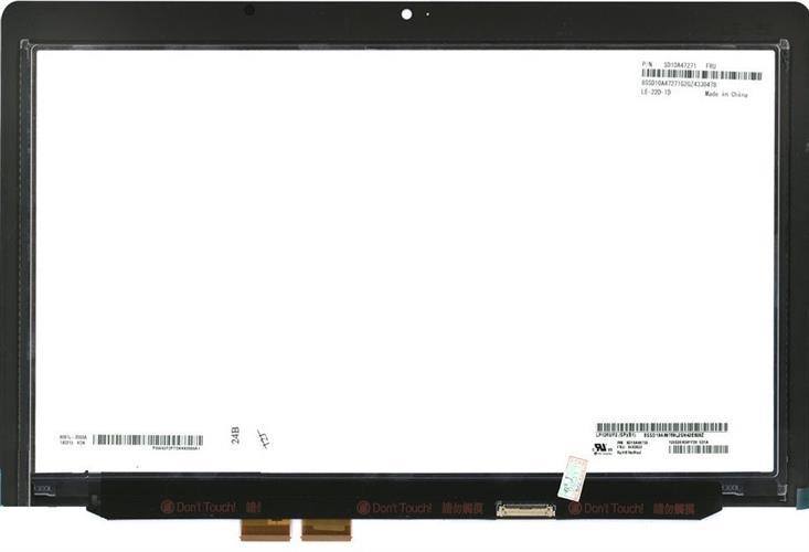 """קיט מסך מגע להחלפה בנייד לנובו Lenovo X240S Original Screen 12.5"""" 1920x1080 FHD IPS Display FRU 04X3922"""