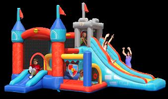 מתקן קפיצה 13 התחנות הפי הופ - 9021 - 13in1 Bouncy Castle Happy Hop
