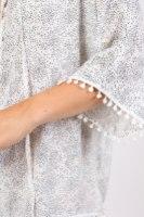 שמלת כריס שחור/לבן
