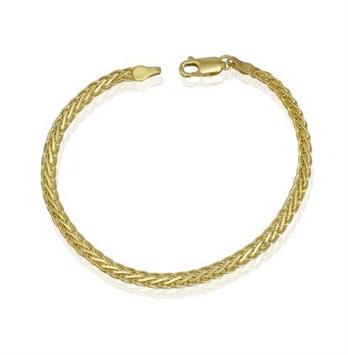 צמיד זהב חוליות מיוחד