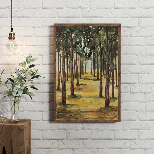 עצים ביער