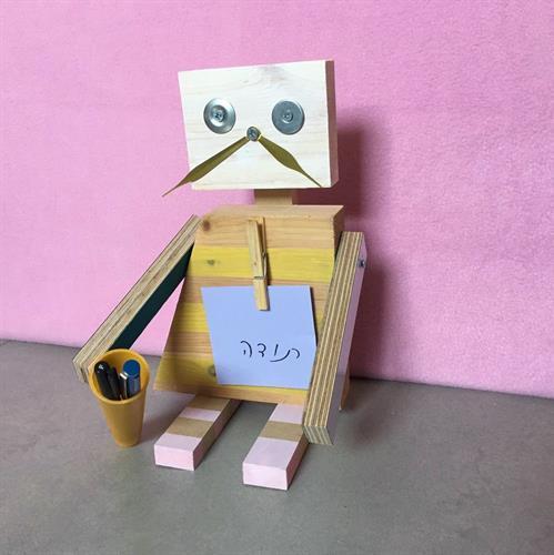 12.8.19 (יום שני 10:00-13:00) סדנת רובוטים הורה וילד