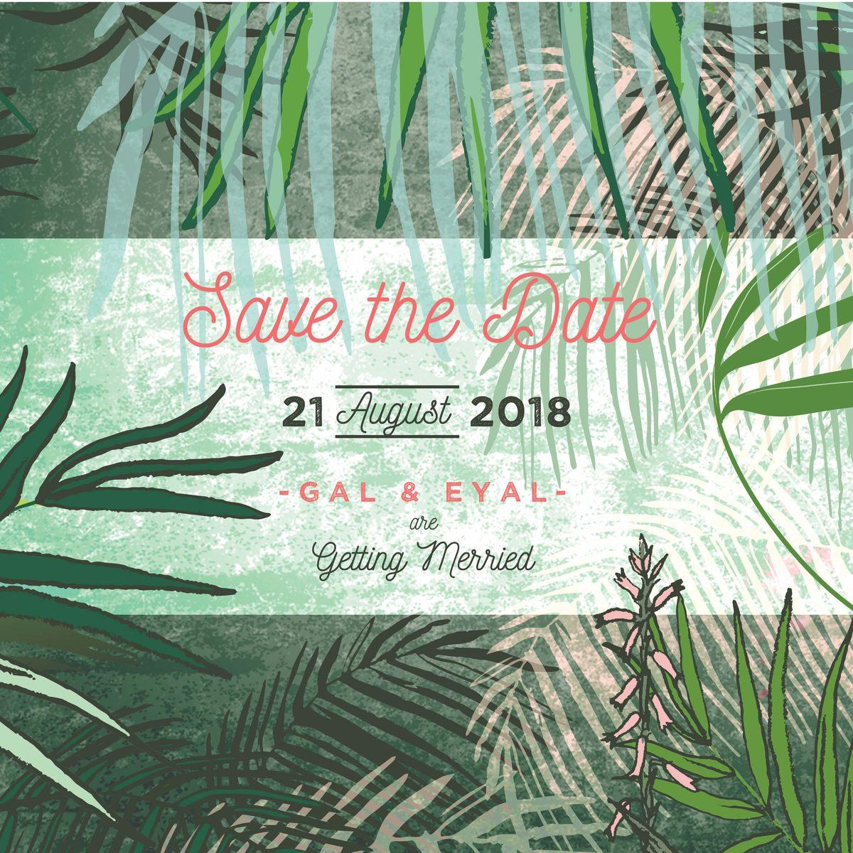 SAVE THE DATE - Jungle