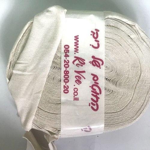 עודפי ייצור של חוטי טריקו פרוסים לסריגה צבע אבן