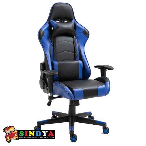 כסא גיימרים PROJECT ALPHA - כחול