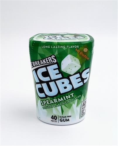 ice cubes spearmint gum