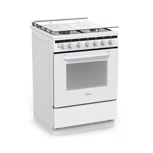 """תנור אפייה לבן משולב עומד ברוחב 60 ס""""מ לבן דגם 24DMS4G"""