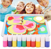 צבעי מים לילדים - עשה זאת בעצמך