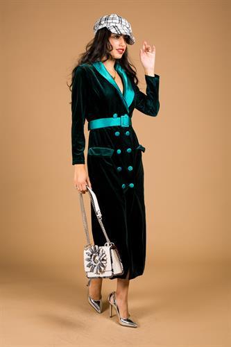 שמלה דמוי ג'קט