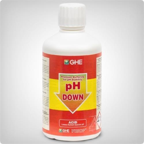 נוזל להורדת חומציות 1 ליטר GHE PH Down