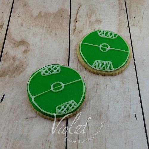עוגית מגרש כדורגל