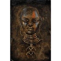 תמונות על קנבס בזוגות - זהב שחור