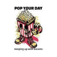 חולצת טי - Pop Your Day