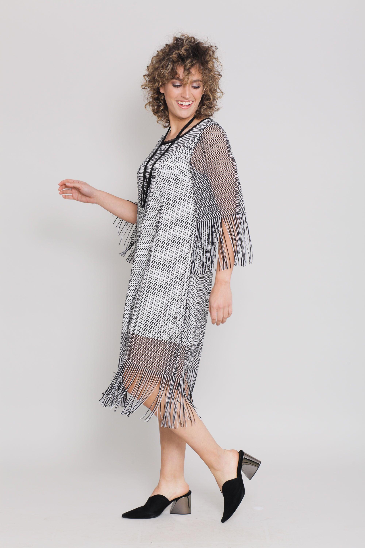 שמלת צרלסטון שמנת