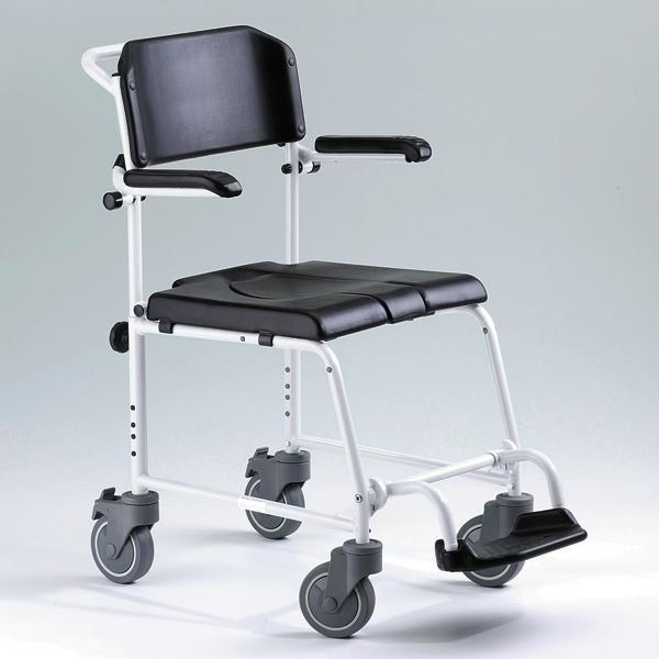 כסא רחצה ושירותים ללא הנעה עצמית Meyra