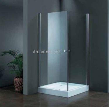 מקלחון שתי דלתות
