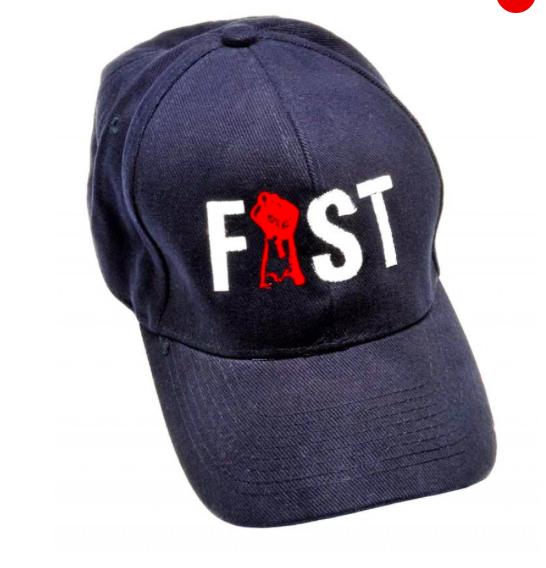 כובע פיסט מדליק