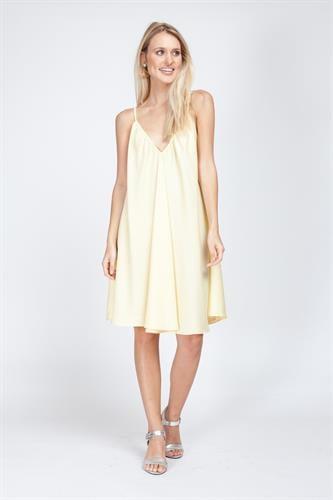 שמלת קלי צהובה