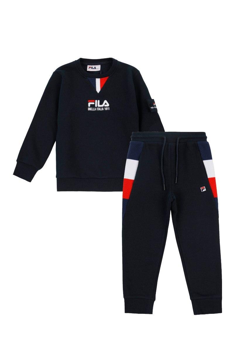חליפת פוטר כחולה FILA בנים - מידות 2-8