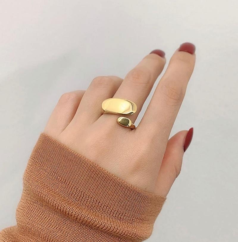 טבעת klo'e בציפוי 18k