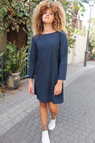 שמלת מריפוסה כחולה