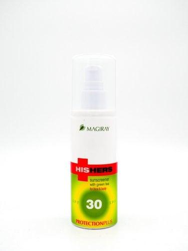 תחליב הגנה לכל סוגי העור לפנים ולגוף- SPF30 | מג'יריי סדרת HISHERS