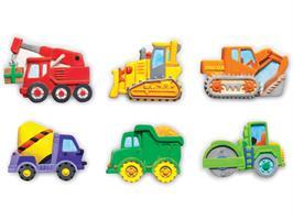 ערכת יצירה יציקת גבס - משאיות 4M