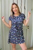 שמלת קשירה ציפורים