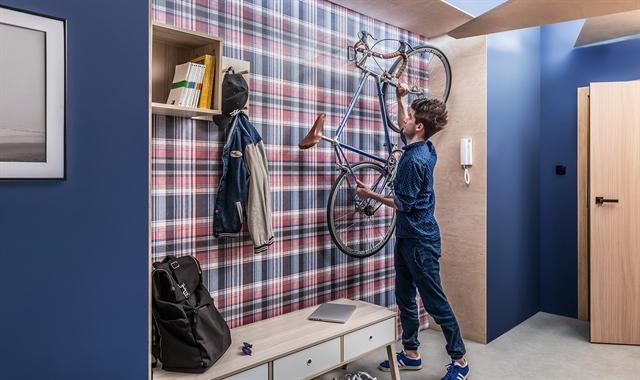 חיפוי קירות פולימרי 100% עמיד במים Kerradeco דגם ''SCOTCH''