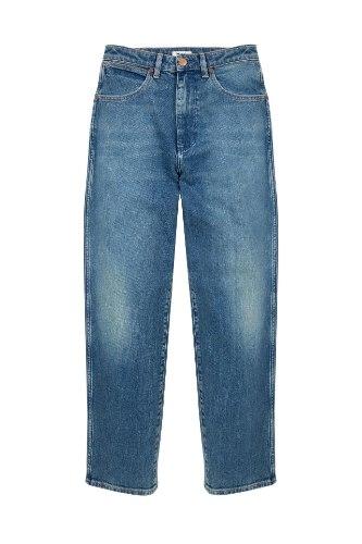 ג׳ינס WRANGLER MOM כחול בהיר
