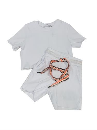 חליפה אתנית לבן