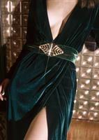 שמלת ברברה ירוקה