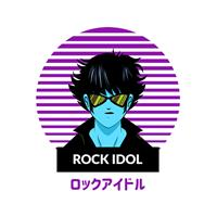 חולצת ילדים Rock Idol