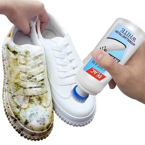 White shoes - שפורפרת קרם להלבנה לשמירה וחידוש הנעליים