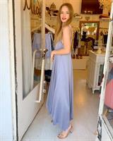 שמלת ליאל - כחולה