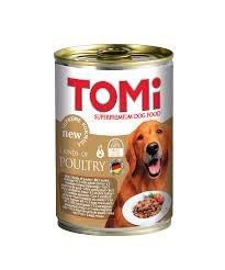 טומי שימורים לכלב 3 סוגי עוף 400 גרם - TOMY SUPER PREMIUM DOG FOOD 3 KIND OF CHICKEN 400G