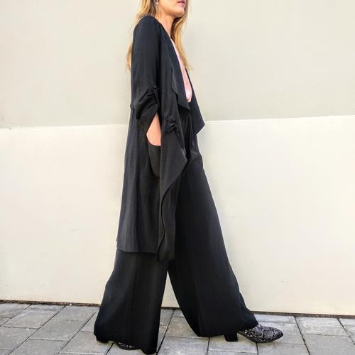 מכנסי MEDO LONG שחור