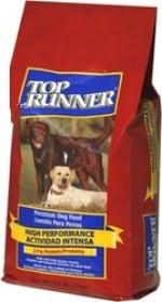 """טופ ראנר היי פרפורמנס 4 ק""""ג מזון יבש לכלבים"""