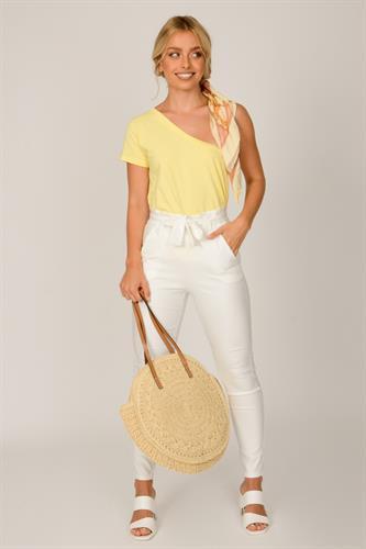 חולצה כתף מריה צהובה