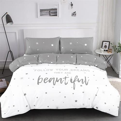 סט מלא מיטה וחצי דגם ברקני 100% כותנה