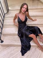 שמלת ליילה שחורה
