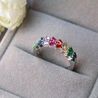 טבעת colourful