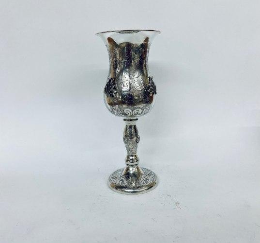גביע אליהו ליל הסדר מכסף טהור סטרלינג 925