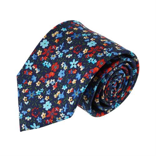 עניבה פרחים הוואי צבעוני