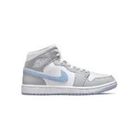 Nike Air Jordan 1 Mid Aluminium Wolf Grey (W)
