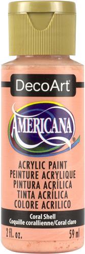 """צבע אמריקנה 59 מ""""ל Coral Shell DA316"""