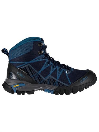 נעלי הרים גברים לטיולים כחול - CMP TAURI MID 38Q9977-N950