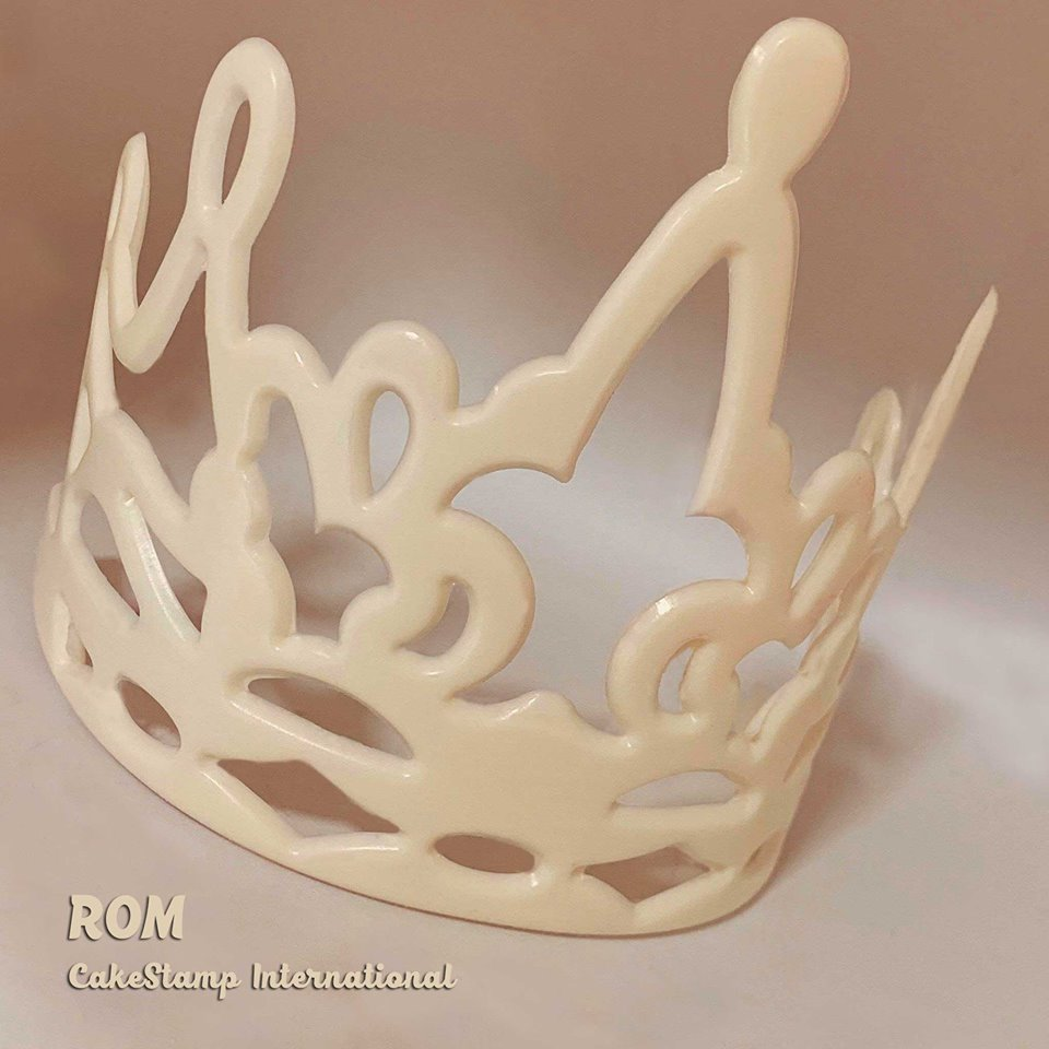 Big Rom crown Chocolate mold